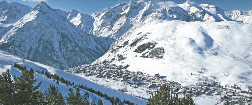 les2alpes szarpnijsie oboz snowboardowy